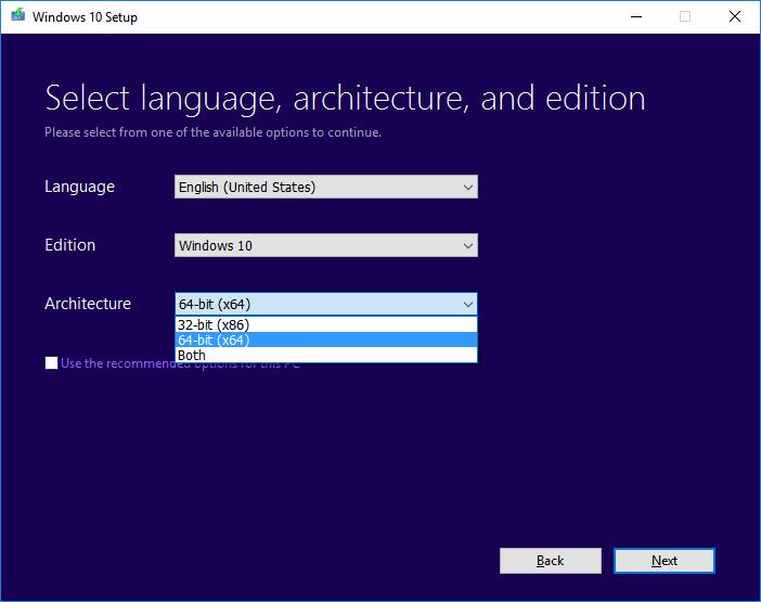 Hướng dẫn tải Windows 10 chính thức từ Microsoft